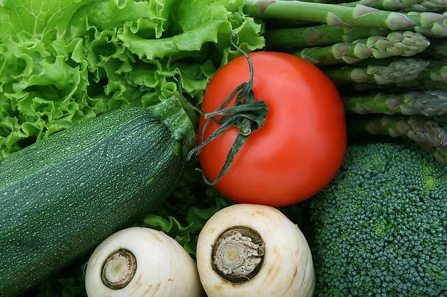 Gas etileno - Frutas y verduras