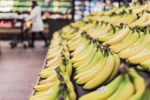 Plátanos frutas y verduras consumo